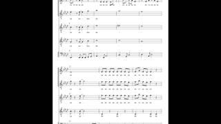ふらっと集まって歌い、解散する会 笑点のテーマ アカペラ楽譜 arranged...