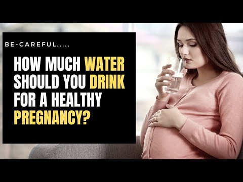 How Much Water Should You Drink For A Healthy Pregnancy ? StayFitNaturally