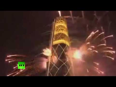 Tower of fireworks: Seoul skyscraper opened with spectacular ceremony