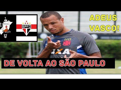 LUIS FABIANO DEIXA O VASCO E VOLTA AO SÃO PAULO