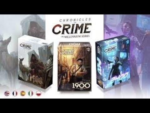 Chronicles of Crime Millemium Présentation KS
