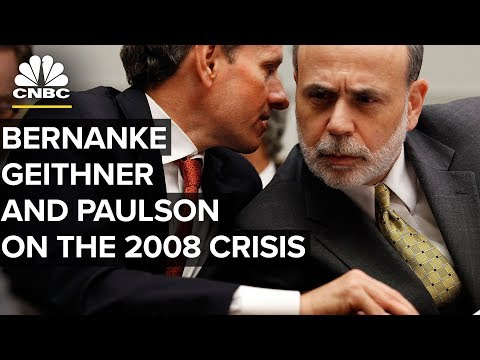 CNBC Interviews Ben Bernanke, Tim Geithner and Henry Paulson - Sept. 12, 2008