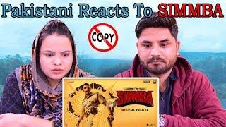 Pakistani Reacts To Simmba   Official Trailer   Ranveer Singh, Sara Ali Khan   Rohit Shetty