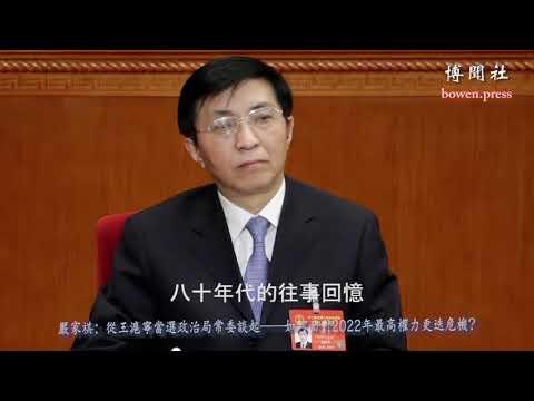 严家祺:王沪宁的四种可能结局