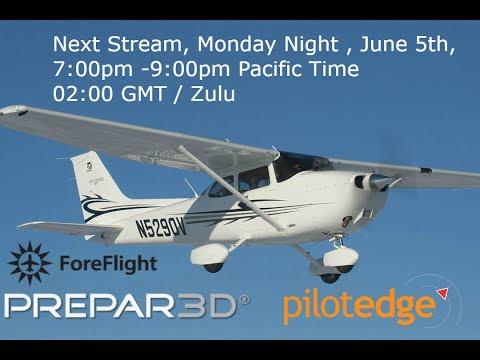 San Diego to Tucson  Part 2     Cessna 172SP  P3D V4  