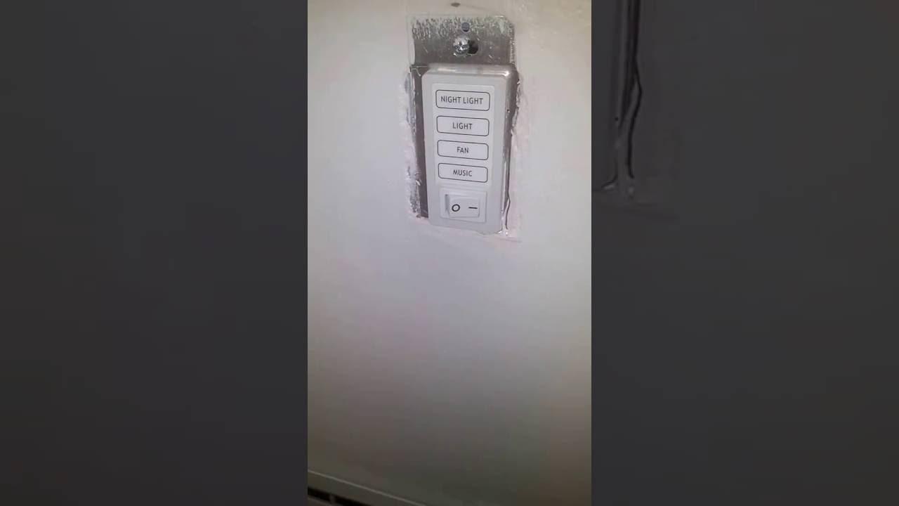 Home Netwerks Bluetooth bathroom fan in action - YouTube