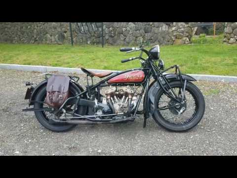 Antique 1931 Indian Scout Classic Motorcycle
