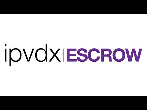 IPVDX - Escrow & Banking Introduction