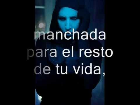Leave a scar (subtitulos en español) - Marilyn Manson