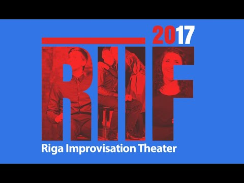 Riga Improvisation Theatre – Love story at RIIF2017