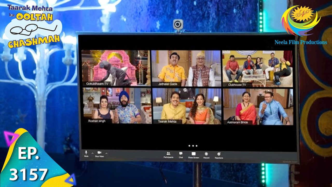 Download Taarak Mehta Ka Ooltah Chashmah - Ep 3157 - Full Episode - 3rd May,2021