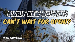 Bighit New Building 16th Visiting Can't Wait for Open!? | 빅히트 신사옥 16번째 방문 오픈이 기대돼!?