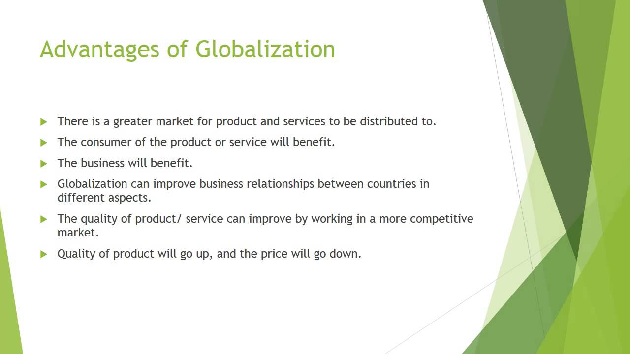 Meaning of Globalization, Its Advantages and Disadvantages