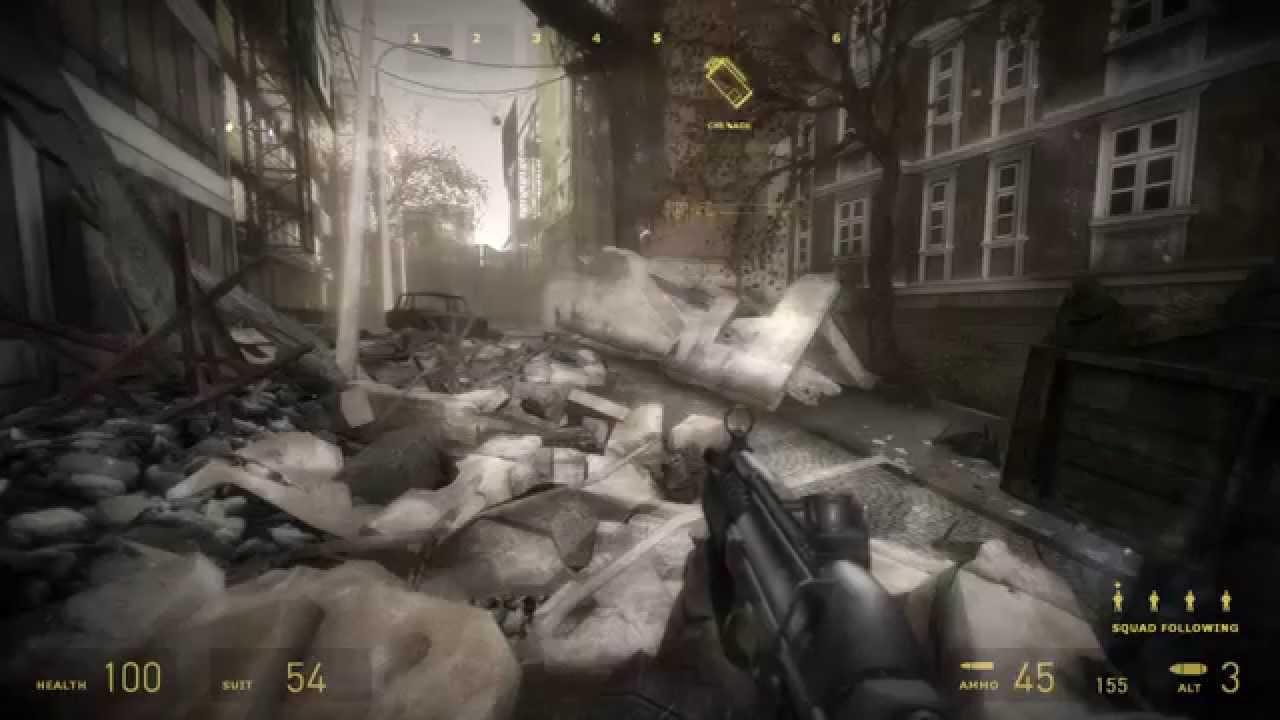 Half Life 2 Cinematic Mod Game Play 2015 ultra settings ...