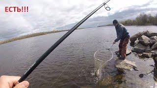 Ловля Судака на Джиг с берега. Очень трудовая рыбалка День 1