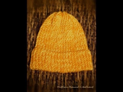 How To Close A Loom Knit Hat Youtube