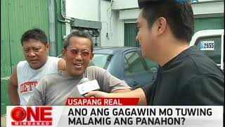 One Mindanao Ano ang Ginagawa Mo Pag Malamig ang Panahon?