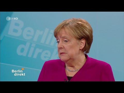 Merkels letztes Interview vor dem Rücktritt? Berlin direkt am 11.02.2018
