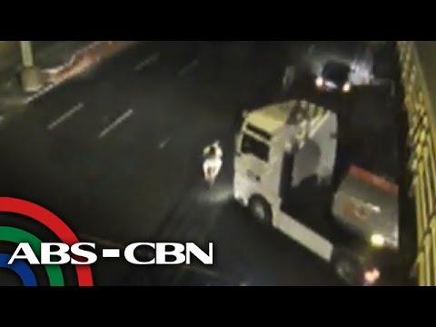 TV Patrol: Siklista, patay nang mabangga ng oil tanker