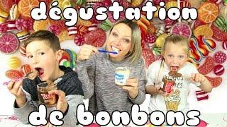 ♡• DEGUSTATION DE BONBONS | EN FAMILLE •♡
