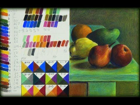 Koh-I-Noor Progresso Woodless Colored Pencils 24 Color Set