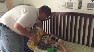 Father's Day Cheerio Challenge
