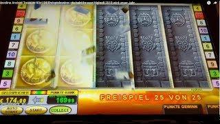 Novoline Ancient Treasure 60c - 2€ Freispielession 💶💶 - HIGHROLL Games 2018 🔺🔺