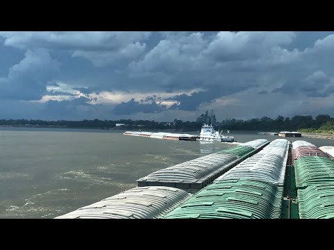 Mississippi River Trip On M/V Stone Strait