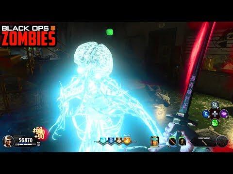 ALPHA OMEGA EASTER EGG COMPLETE!!! - BLACK OPS 4 ZOMBIES DLC 3 GAMEPLAY