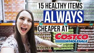 15 Items ALWAYS Cheaper At Costco!