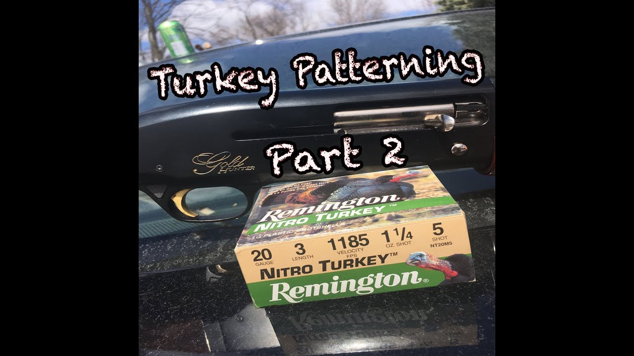 Repeat Turkey Pattern Test Part 2 | Ol' Reliable 20 gauge! by Young
