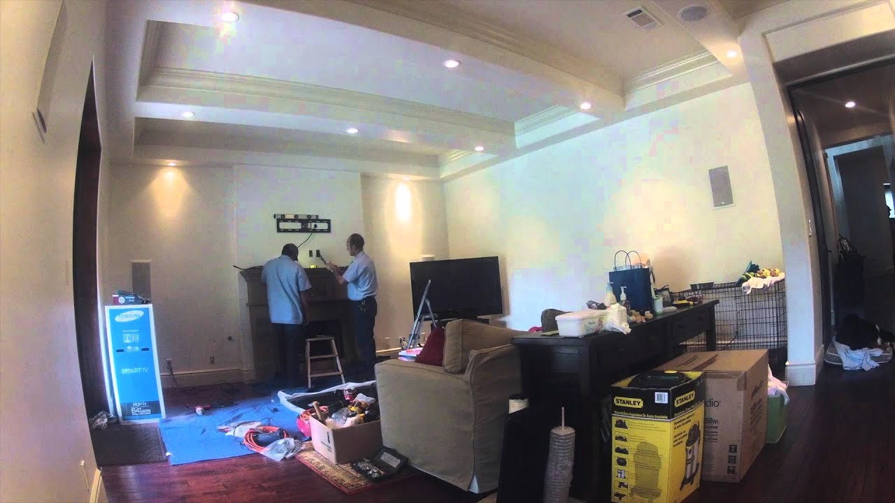 Custom installation of 65 samsung plasma tv with 92 surround custom installation of 65 samsung plasma tv with 92 surround sound perform by sos sciox Images