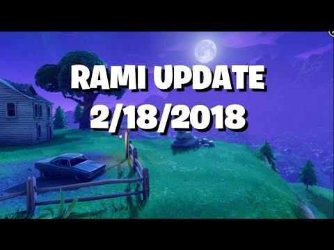 Rami Update 2/18/2018