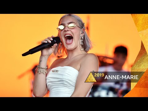 Anne-Marie -  Glastonbury 2019