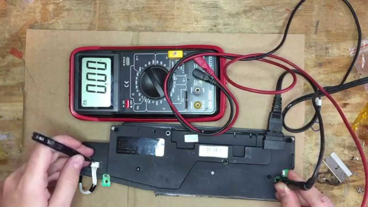 ADP 160AR PS3 PSU Test - YouTube