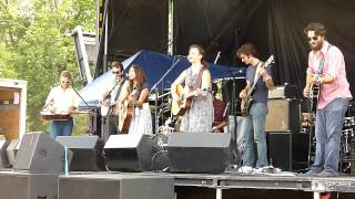 "The Crane Wives ""Back To The Ground""  @ Hoxeyville 2012"