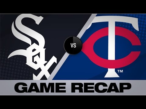 Giolito twirls 12-K, 3-hit shutout | White Sox-Twins Game Highlights 8/21/19