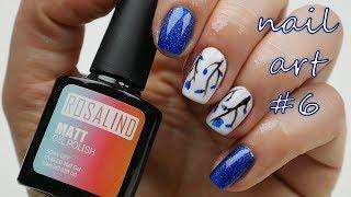 NAIL ART #6 // Jarní květinové nehty // Flower nails