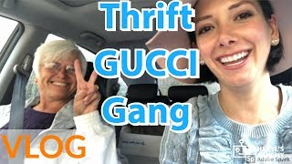Gucci Bag Thrift Find, Organic Juicing, Shopping with Mom