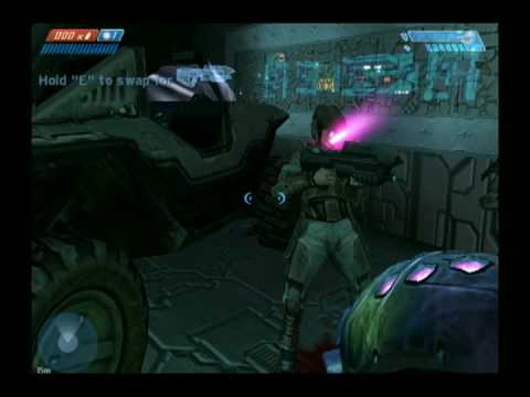 Halo: Combat Evolved Marines Freeze in this cool Glitch!