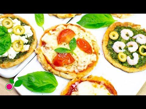 🍕 Mini Pizzas SIN HORNO | LOW CARB | Yo +Green