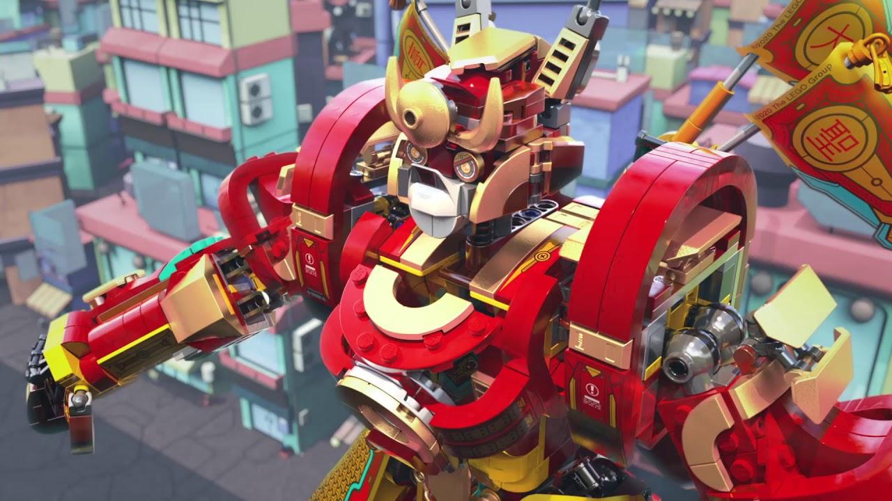 LEGO Monkie Kid™ 80012 - Боевой робот Царя Обезьян