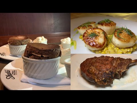 New Menu At Shula's Steak House | Walt Disney World Swan & Dolphin