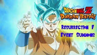 Dokkan Battle - MORE RESURRECTION F 2.0 EVENT SUMMONS - AMAZING PULLS!!