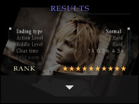Silent Hill 3 10 Star Rank In 1h 03m 43s