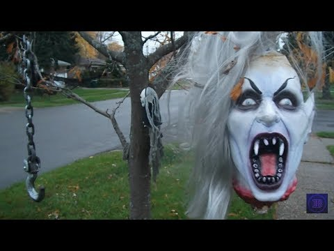 Halloween Decorations Display Tour Youtube