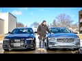 Luxury Sedan Fight! | '17 Audi A6 vs Volvo S90 T6 AWD