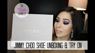 Jimmy Choo Sandals - Unboxing Haul & Try On