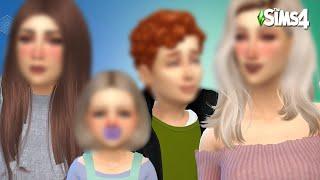 The Sims 4 | TRANSFORMANDO OS FILHOS (100 BEBÊS)