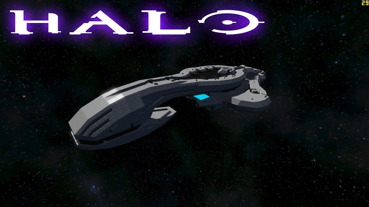Space Engineers Halo Covenant Assault Carrier Cas